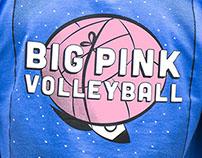 Big Pink Volleyball