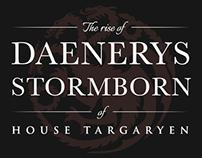 Game of Thrones Infographic: Rise of Daenerys Targaryen