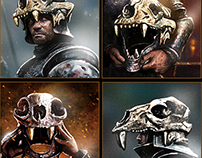 Skull Helmets Game of Thrones Ascent