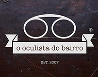 O Oculista do Bairro - Imagem Corporativa