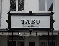 TABU CAFFE BRANDING AND PRESENTATION MATERIAL