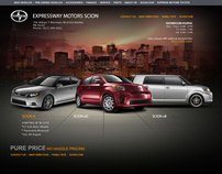 Car web site designs