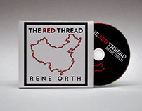 CD Cover Design for the Red Thread