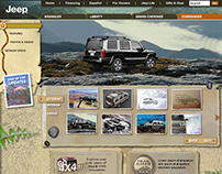 Jeep Commander Reveal Site