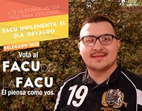 Facu de la Facu (Campaña Política)