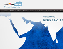 my personal works travel website for suhana safar