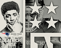 Arkansas Razorbacks 2017 NFL Draft Graphics