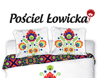 Branding and packaging for Łowicka Bedding