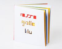 RGB tangram font