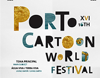 PAA_ PortoCartoon World Festival 2014' Poster