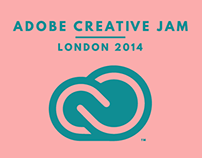 Adobe Creative Jam - London 2014 - My Entry