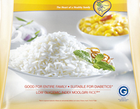 SAFFOLA RICE PACKAGING
