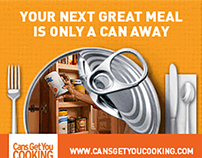 Digital Campaign for Canned Food Promotion