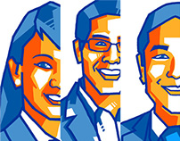 Portraits for the WYAAP Emerging Leaders Conference