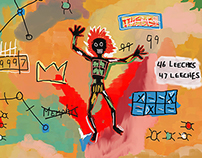 Basquiat Credits Animation