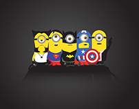 Minion Super Hero