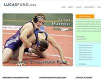Lucas Fund org Responsive Website