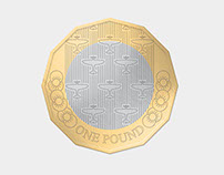 The New £1