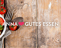 Anna's: Pop Up & Catering Branding