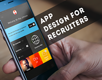App design for  recruiters