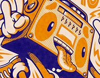 Music poster - Espacio Libre