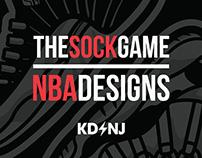 The Sock Game x NBA