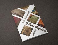 """Branding - """"Artes de Trabalhar Fibras Vegetais"""""""