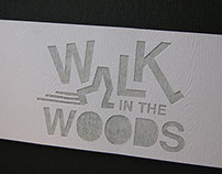 TYPOGRAPHY BOOK | Walk in the Woods