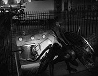 Les monstres du cinéma dans Paris