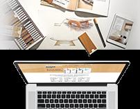 WoodDemo Website E-Commerce Design