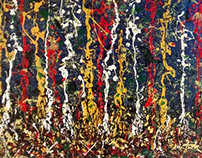 Homage to Pollock No.2