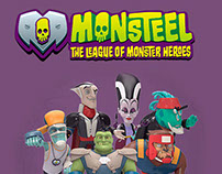 Monsteel - Toy & Augmented Reality App