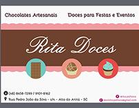 RITA DOCES ETIQUETA E LOGO
