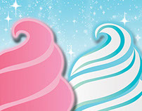 Slushy & Ice Cream Machine Graphics