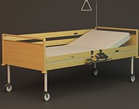 HEALTHCARE BED SHELF