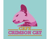 Cafe Crimson Cat