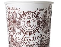 Chipotle Cultivating Thought Cup
