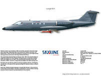 Skyline Aviation Learjet 36A Squadron-Print