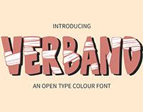 Verband - Colour Font