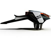 Water flying vehicle