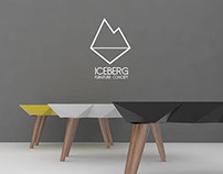 Iceberg furniture concept