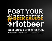 Riot Beer slides