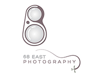 68 East Photography logo design