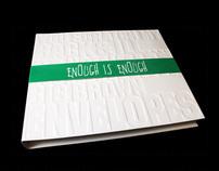 Book Cover, Enough is Enough