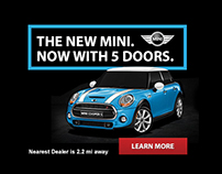 Mini Cooper Mobile Ads