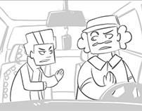 "Unsupervised, Episode ""Young Bloods"" - Storyboards"