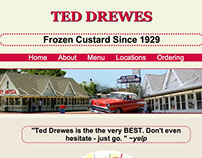 Ted Drewes Website Redesign