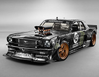 Ken Block's Mustang RTR ' Hoonicorn ' Vehicle Styling
