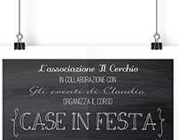 Branding Design - Case in festa