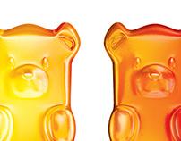 3D Candy Bear
